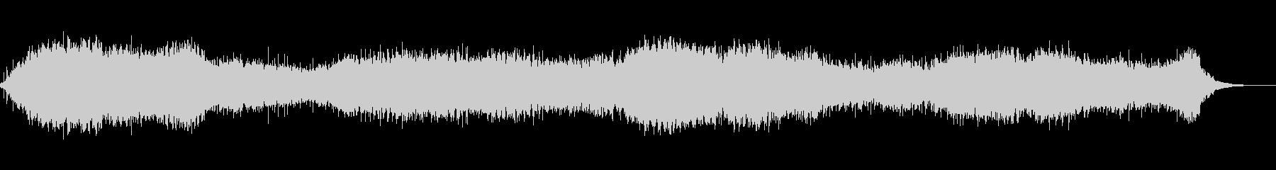 【60秒】ドキュメント風のアンビエントの未再生の波形