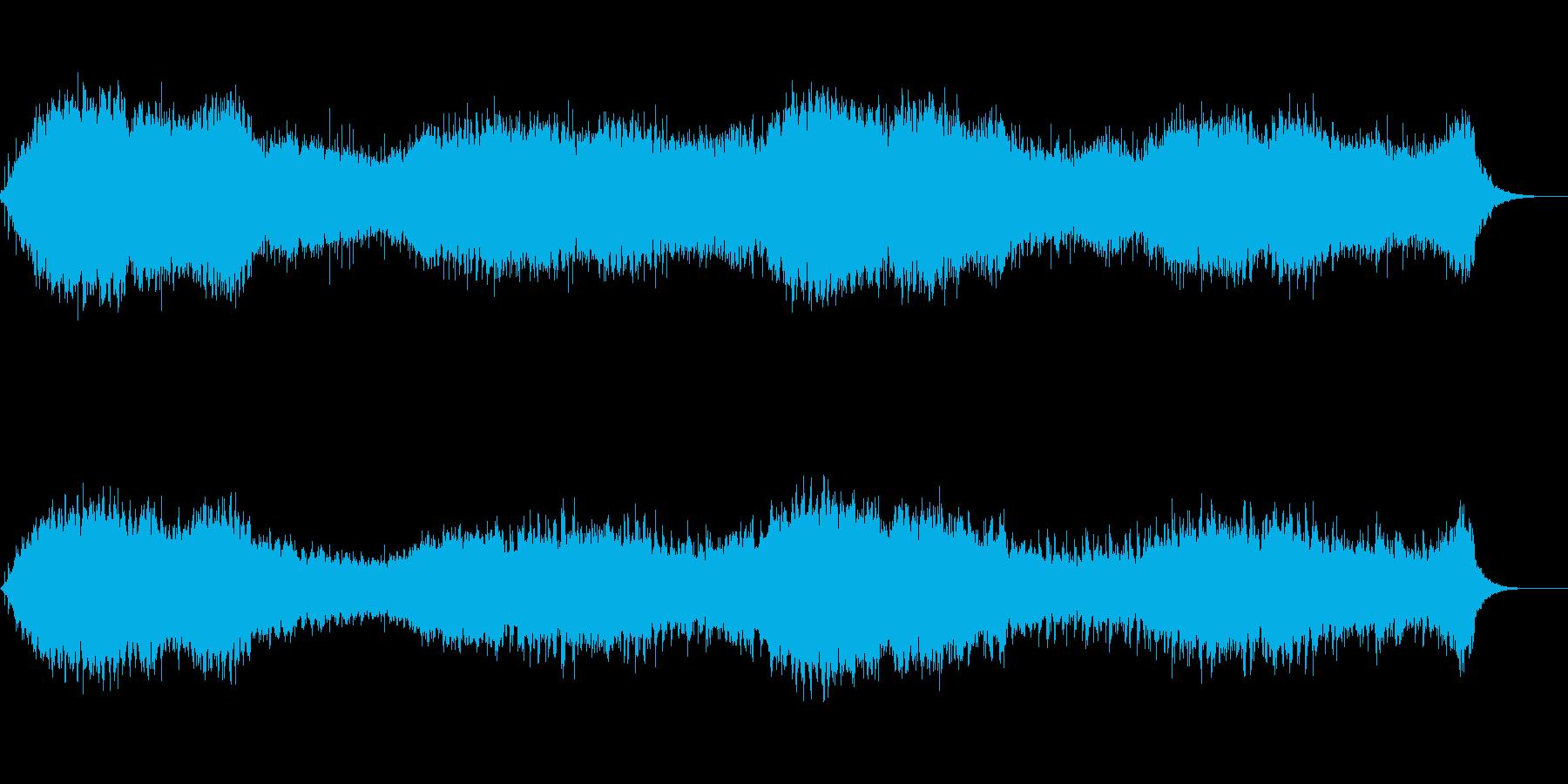 【60秒】ドキュメント風のアンビエントの再生済みの波形
