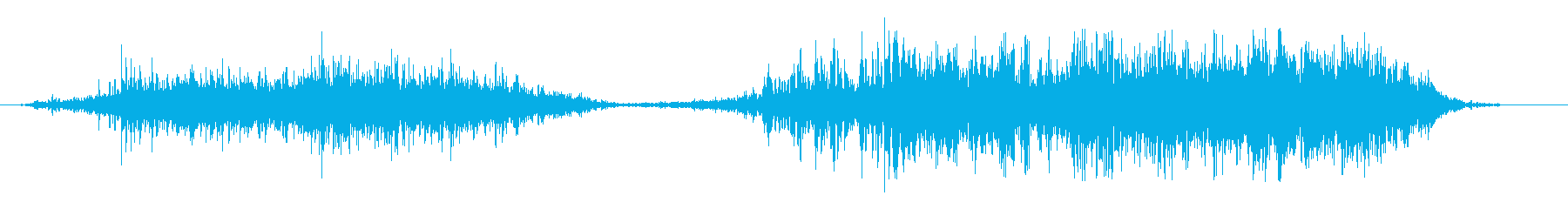 ドドドドドゴゴゴゴゴ(土系の音)の再生済みの波形