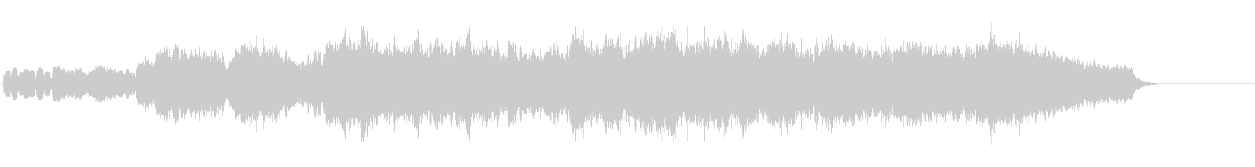 ショート・クラシック(前奏曲風)の未再生の波形