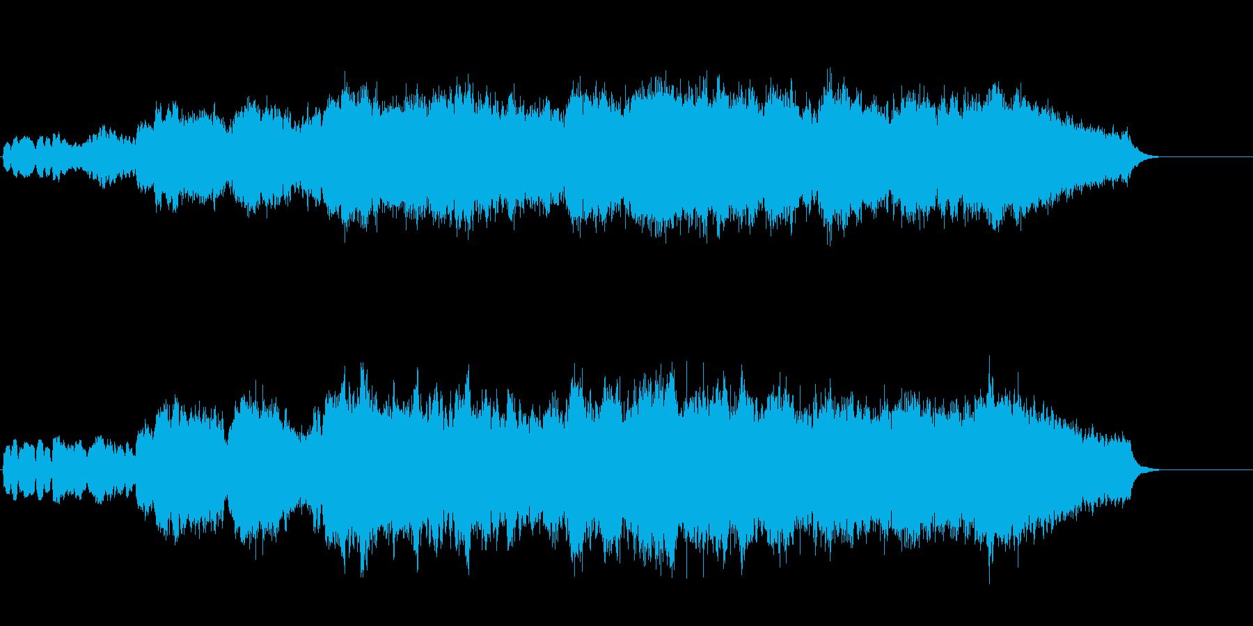 ショート・クラシック(前奏曲風)の再生済みの波形