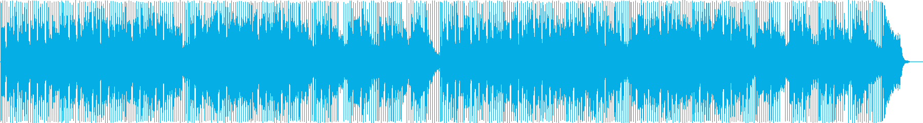 可愛くてポップなライトボサノバの再生済みの波形