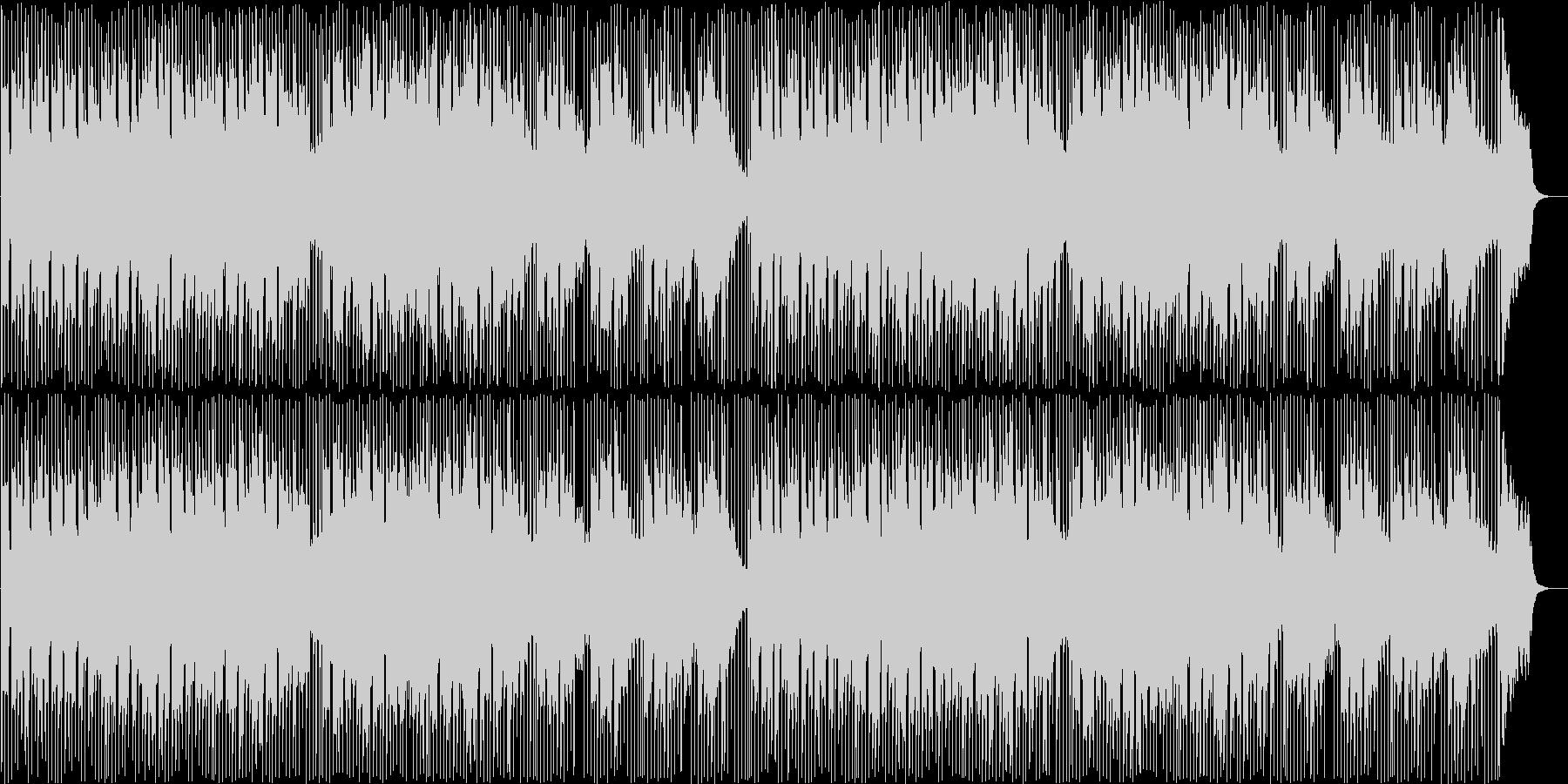 可愛くてポップなライトボサノバの未再生の波形