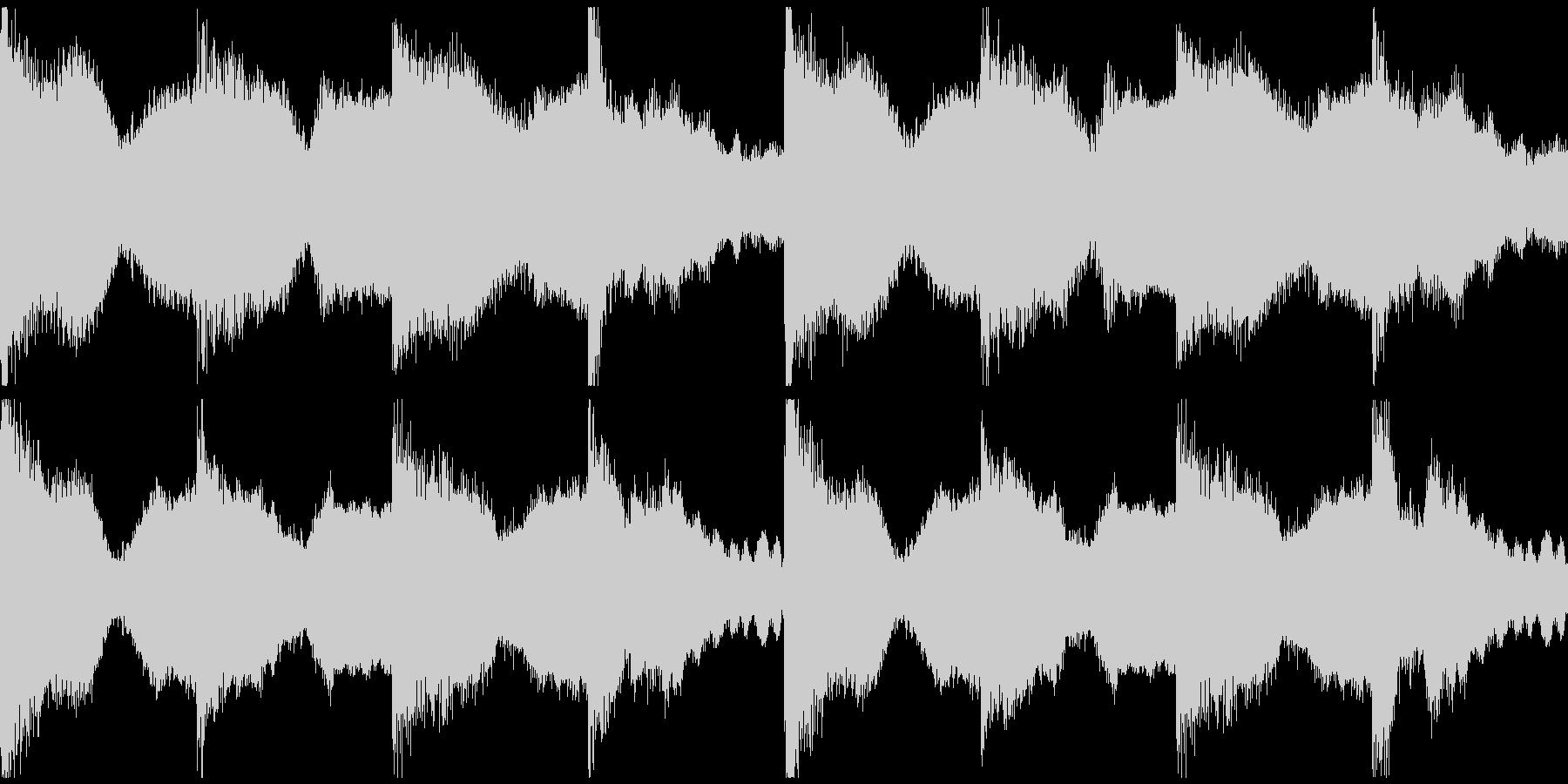 躍動感,オシャレCM、ループ4の未再生の波形