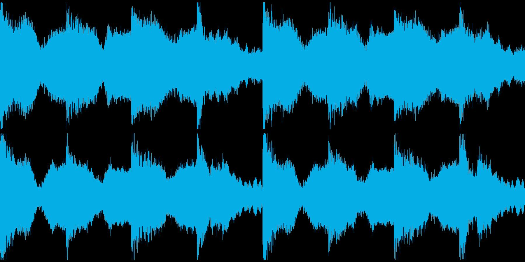 躍動感,オシャレCM、ループ4の再生済みの波形