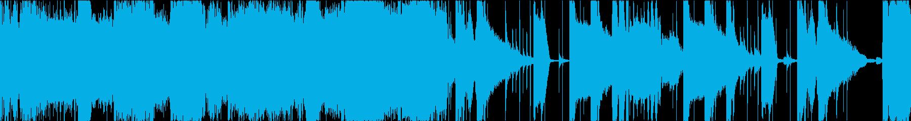 BGM02 brass  27秒ループの再生済みの波形