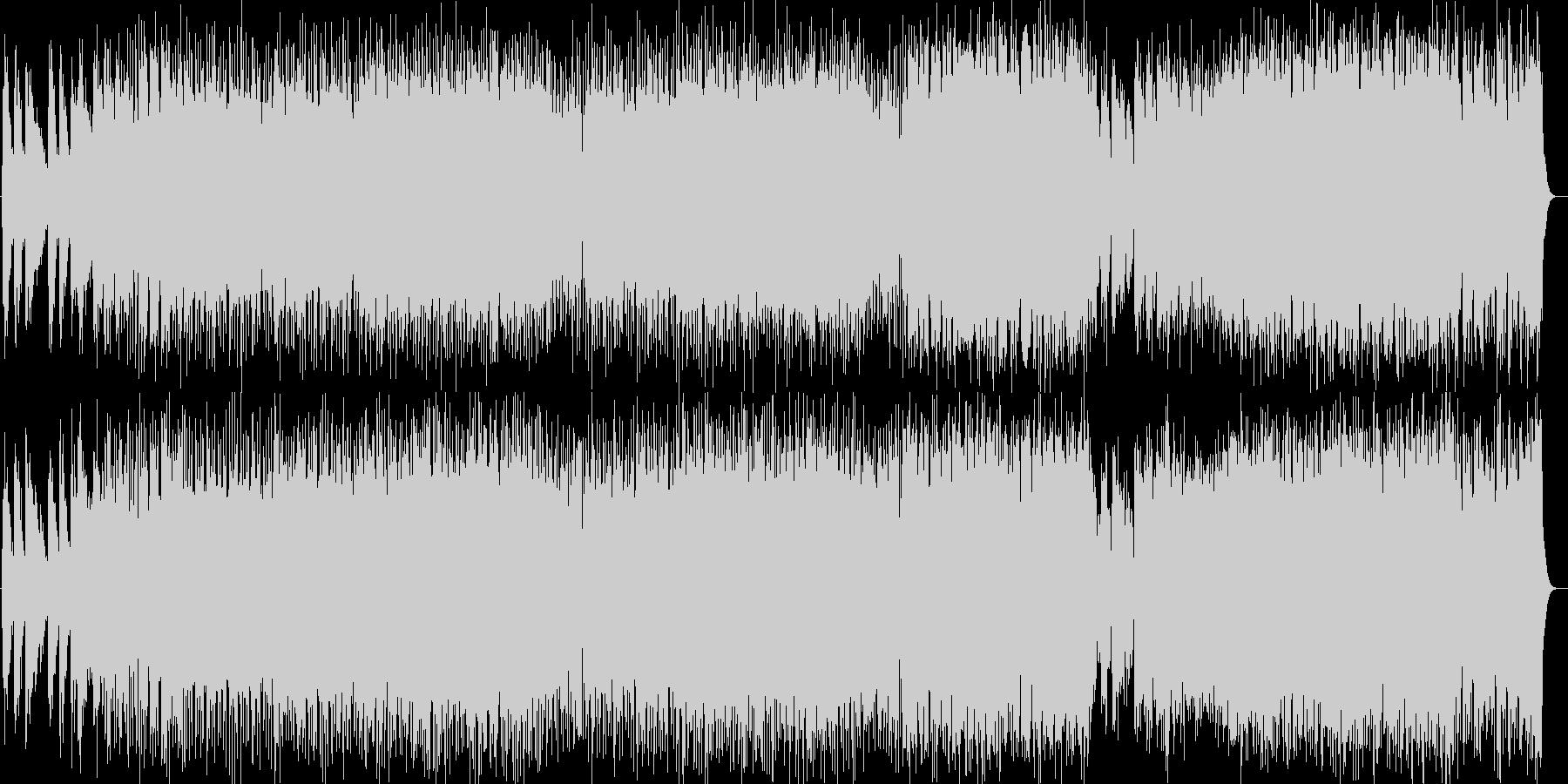 ドラマチック系シンセサイザーサウンドの未再生の波形