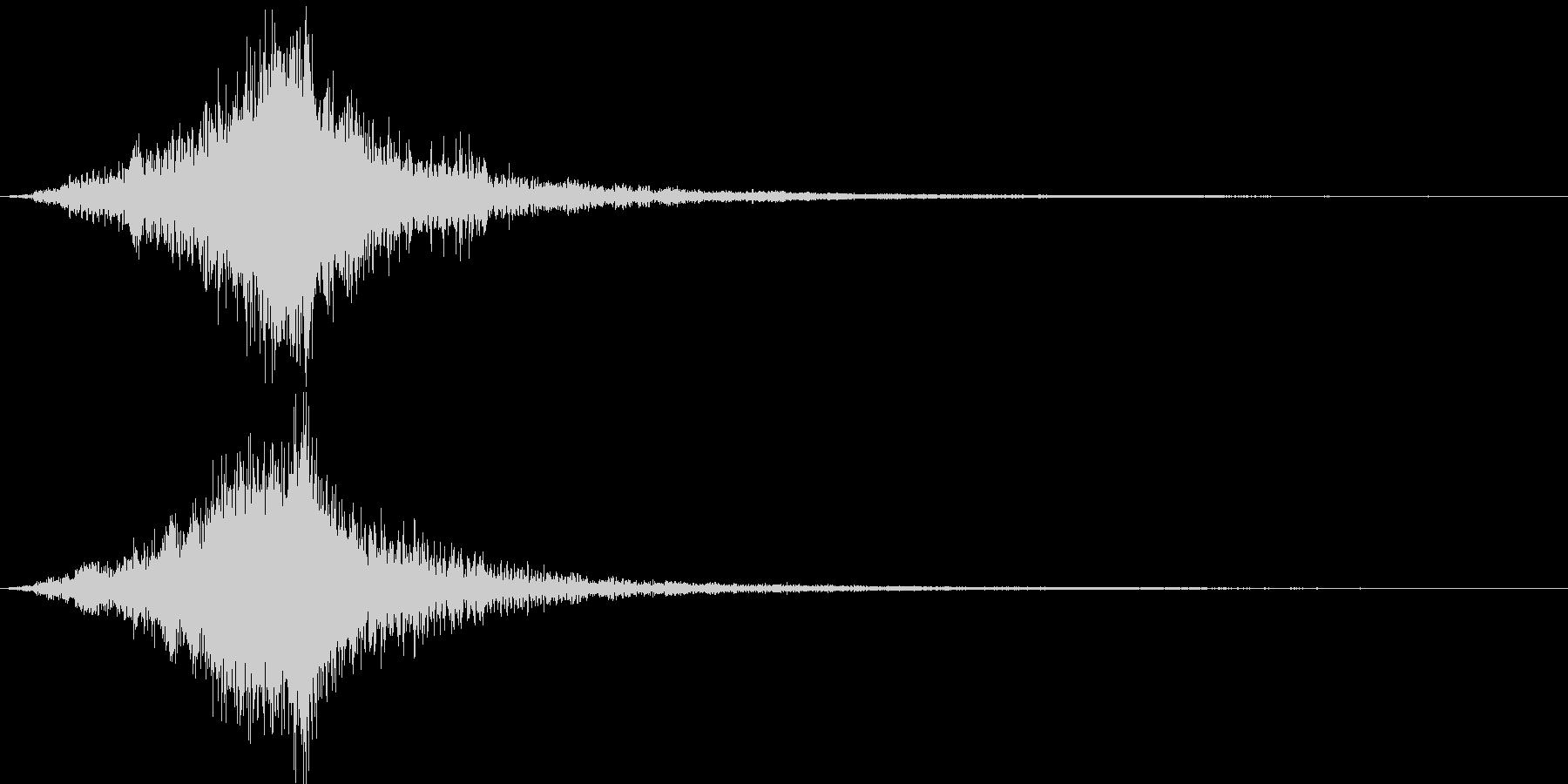 映画に合う効果音06の未再生の波形