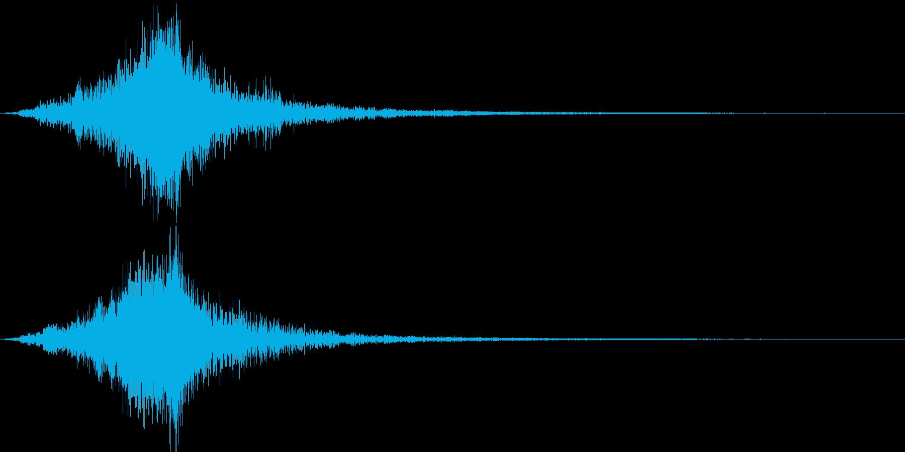 映画に合う効果音06の再生済みの波形
