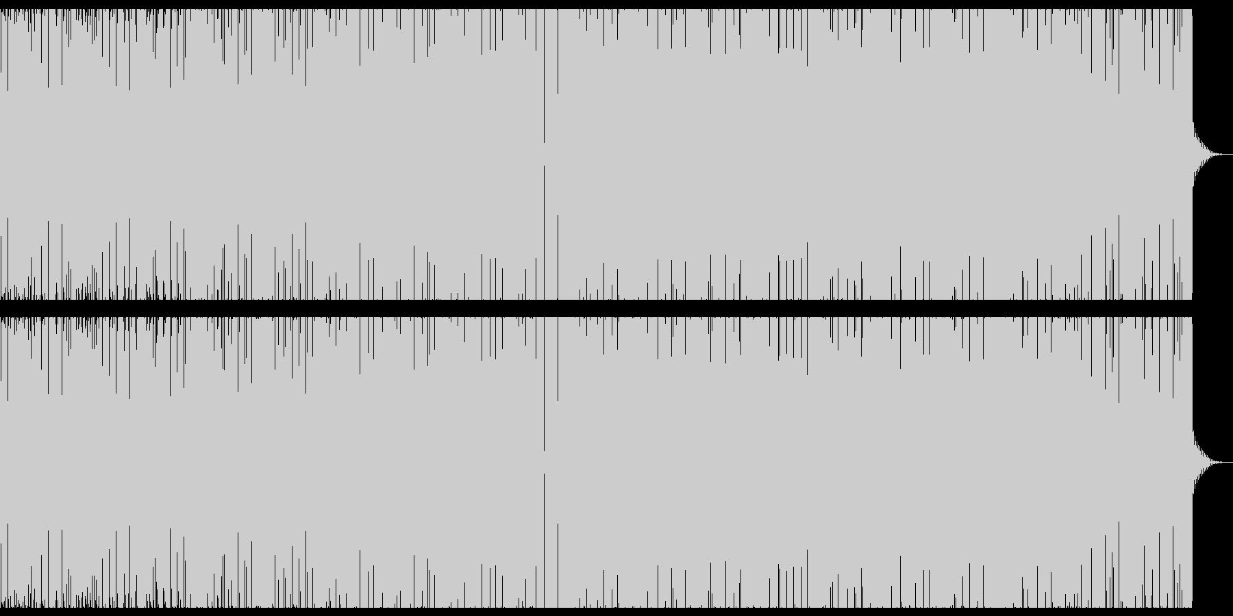 エレクトリック抽象的ビートの未再生の波形