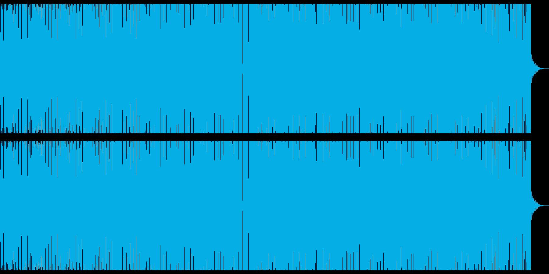 エレクトリック抽象的ビートの再生済みの波形