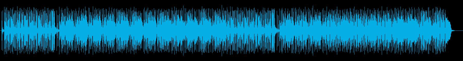 軽快なミドルテンポのシンセポップスです。の再生済みの波形
