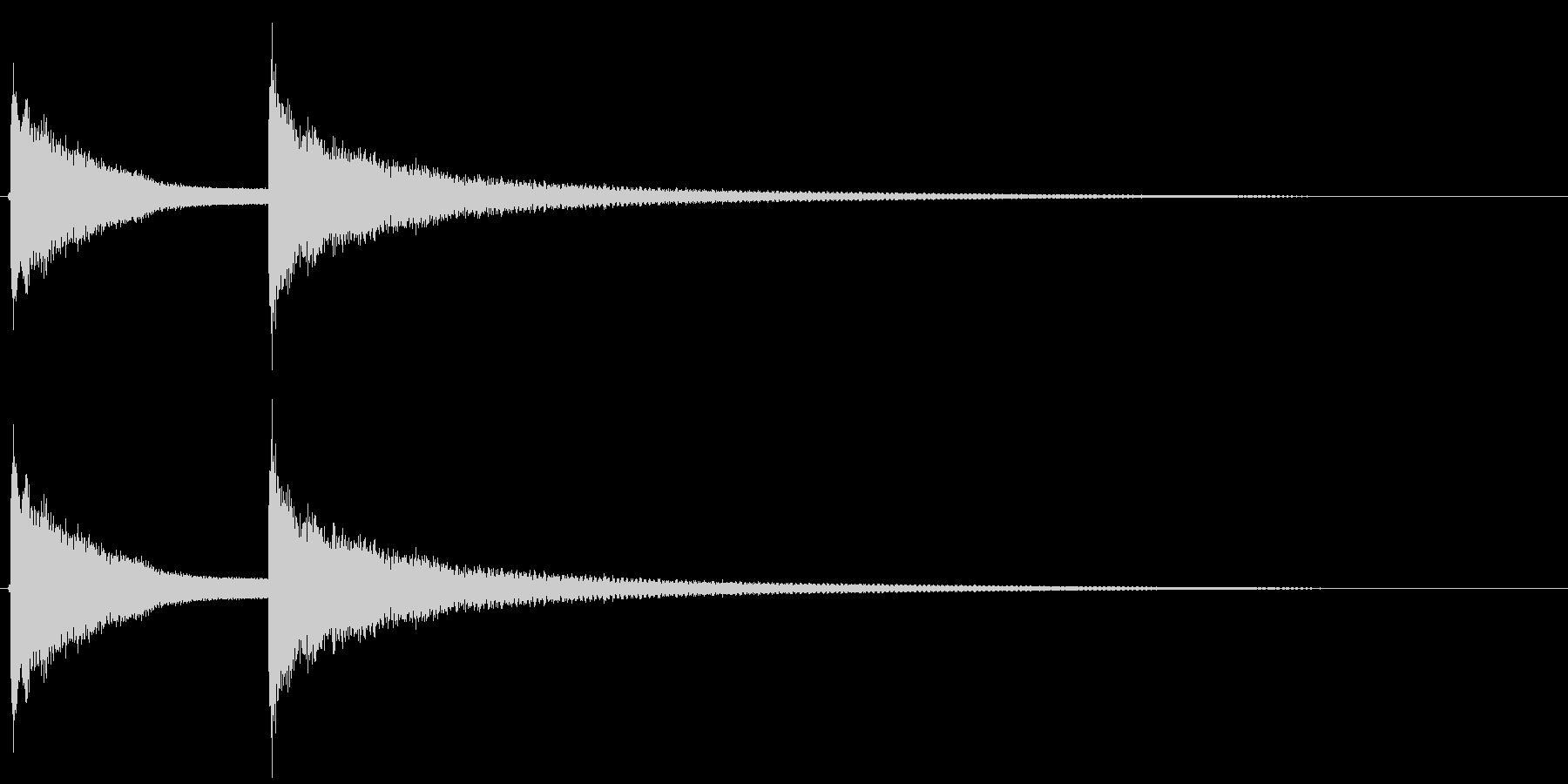 ドアチャイム(アナログ)の未再生の波形