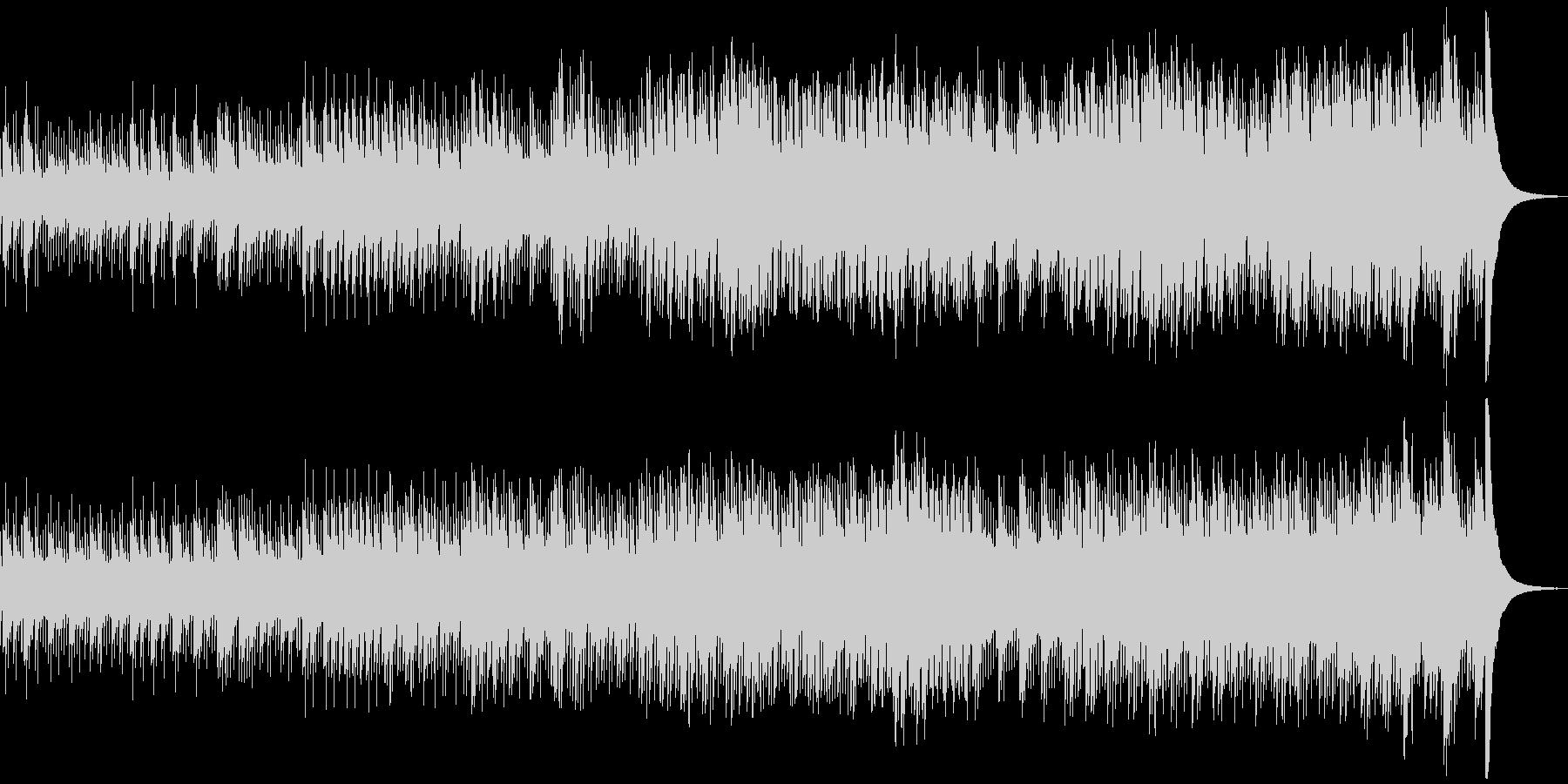プレリュード オルゴールの未再生の波形