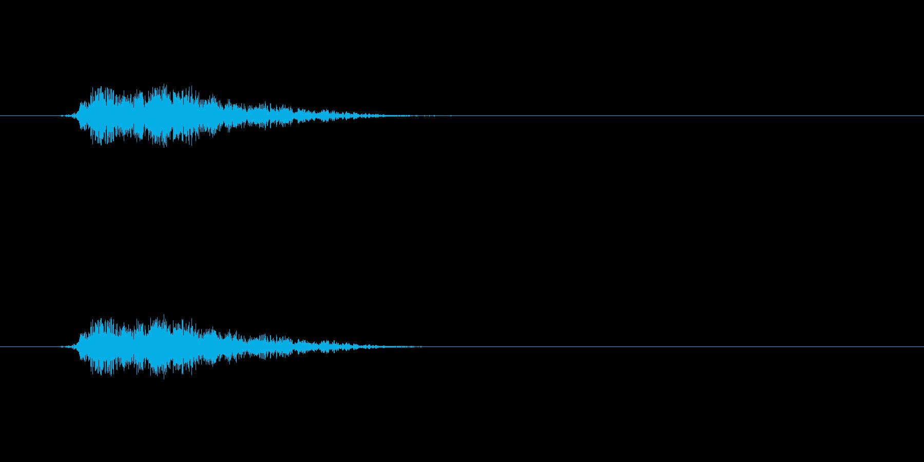 【モンスター02-02】の再生済みの波形