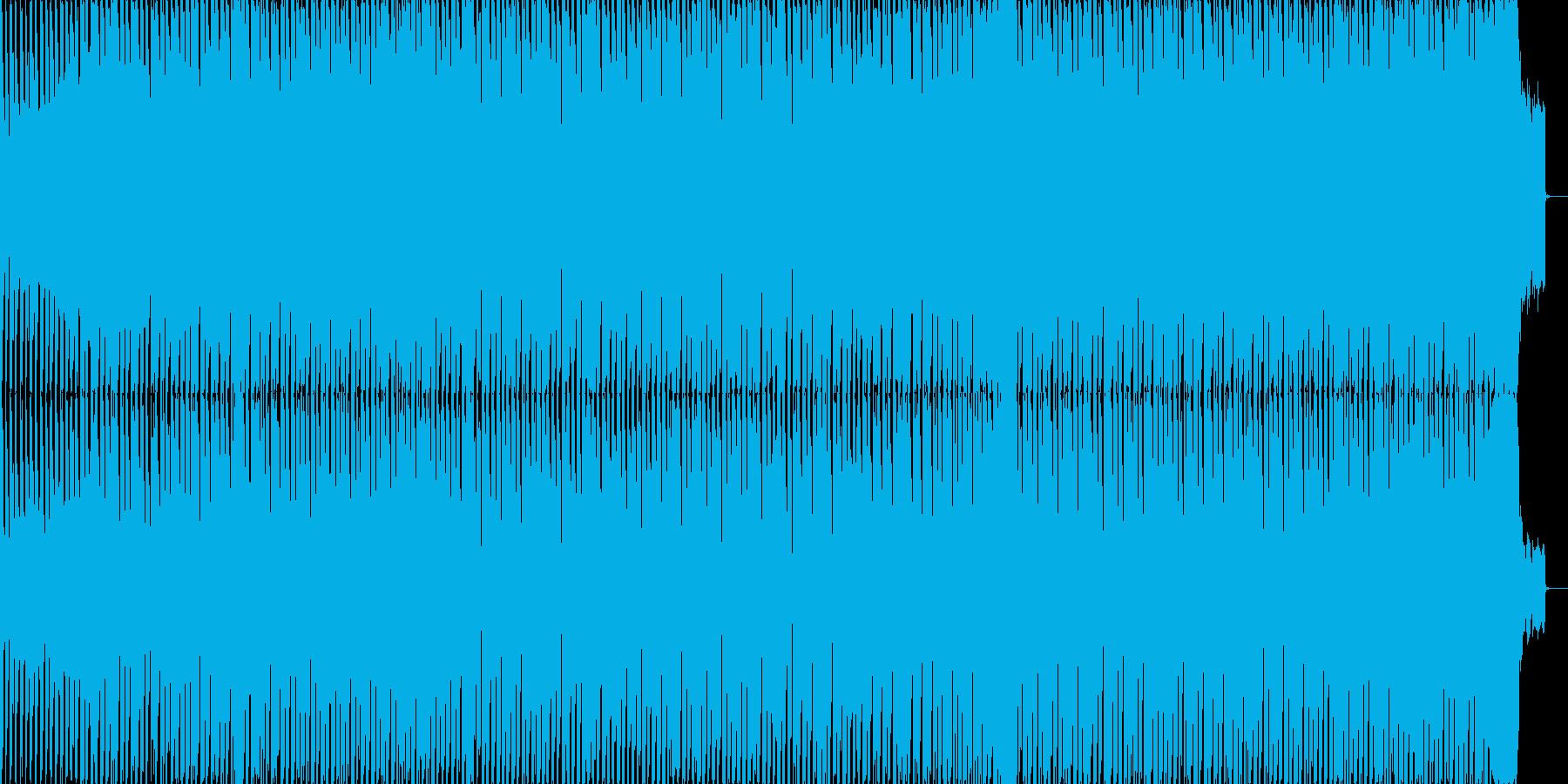 運動会定番曲「天国と地獄」テクノポップの再生済みの波形