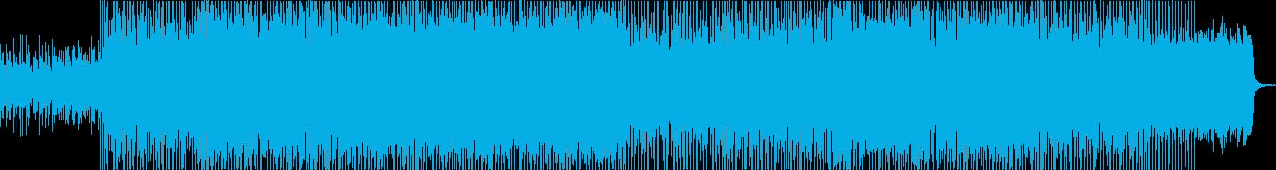 爽やかで軽快なボッサハウス。の再生済みの波形
