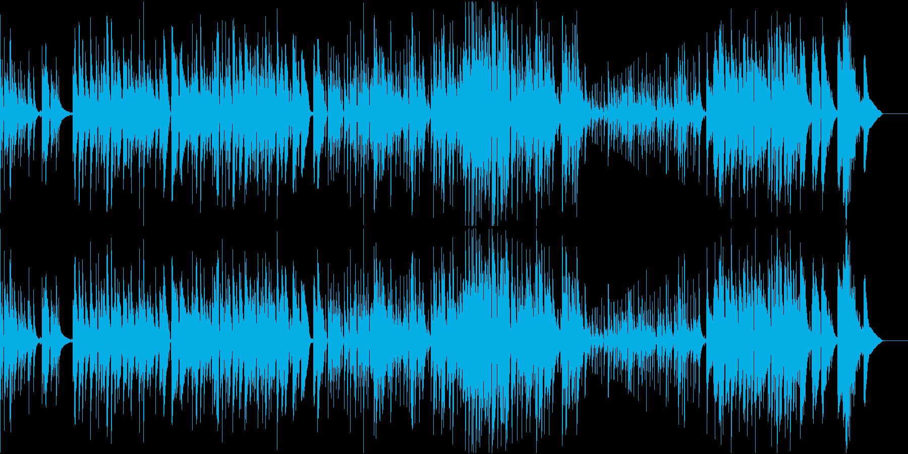 バリトンサックスとアコギのジャズワルツの再生済みの波形