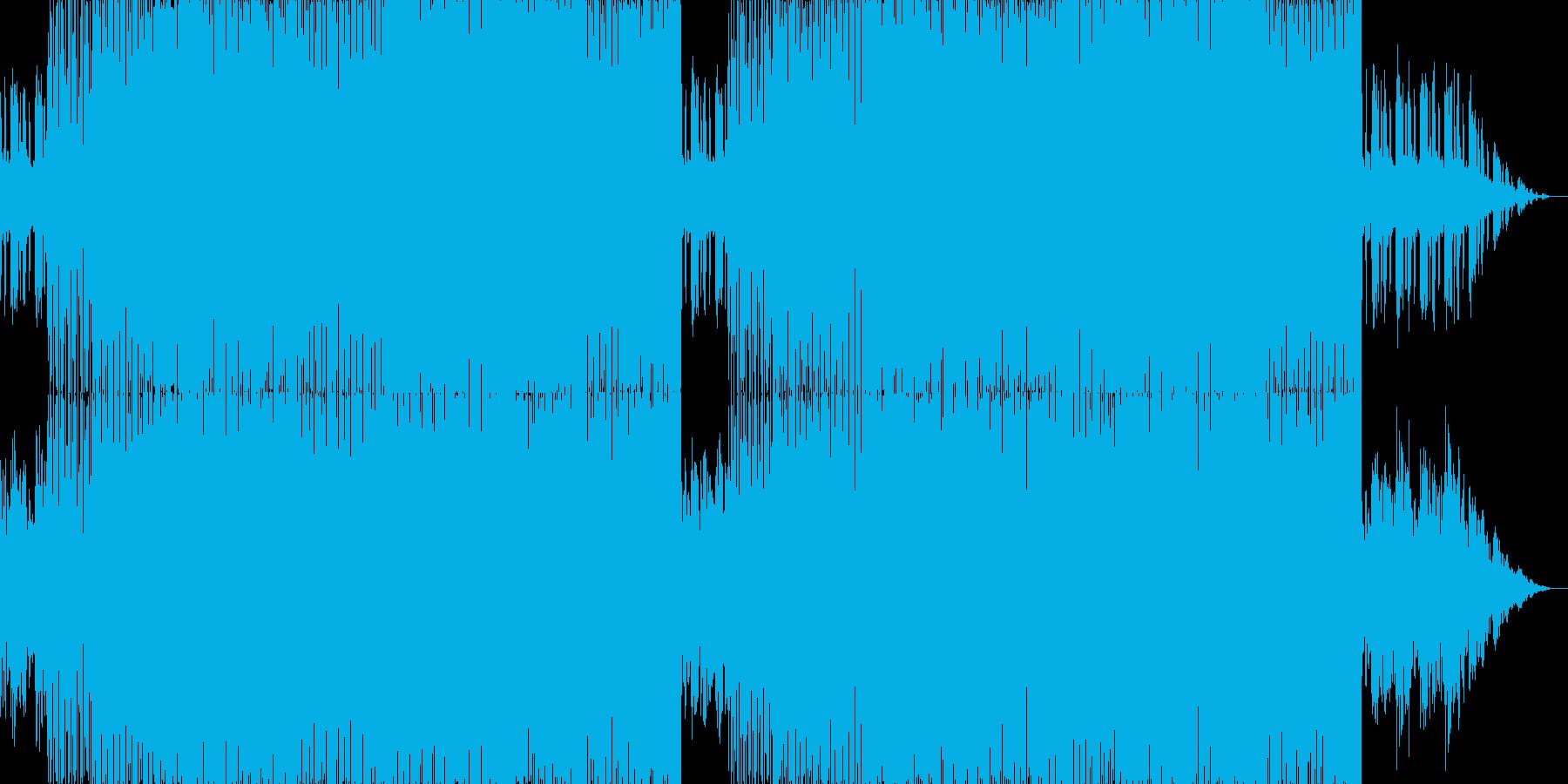 メロディーが美しいトランスの再生済みの波形
