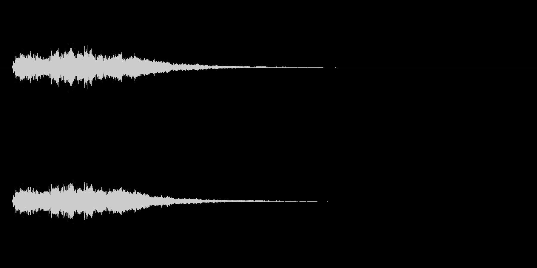 【競技用ゴング02-7】の未再生の波形