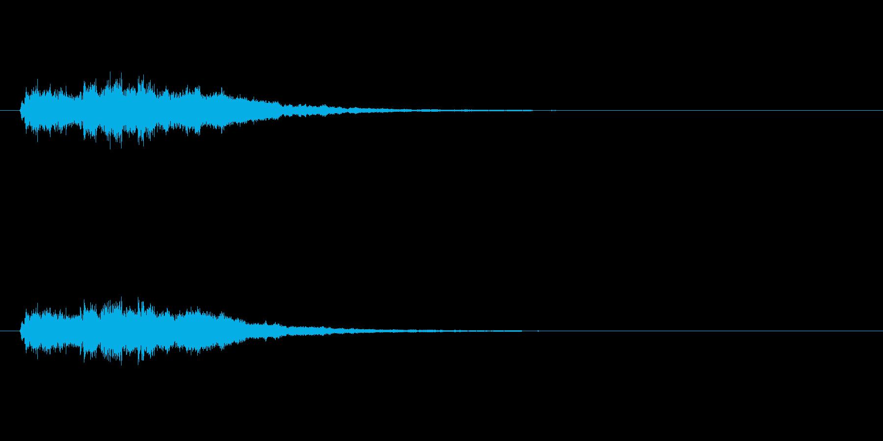 【競技用ゴング02-7】の再生済みの波形