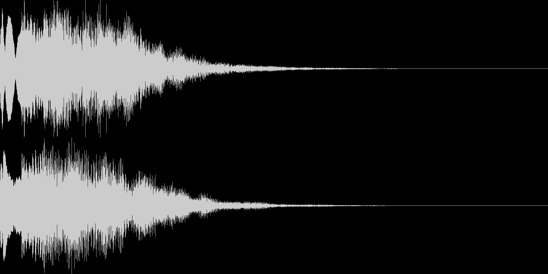 サウンドロゴ45_シンセの未再生の波形