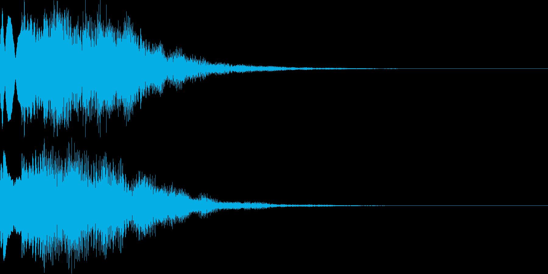 サウンドロゴ45_シンセの再生済みの波形