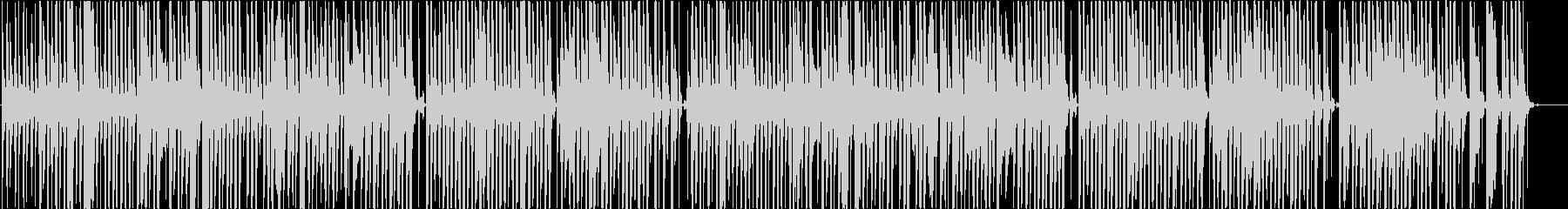 リコーダーのおどけた雰囲気の温かい楽曲の未再生の波形