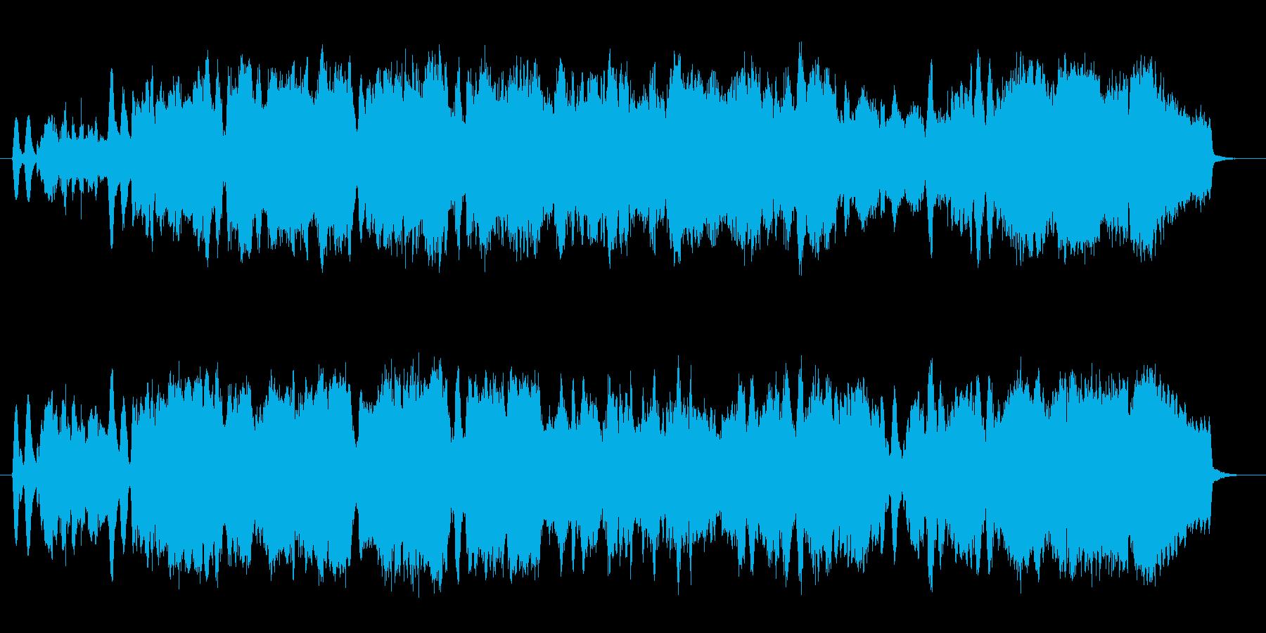 爽やかで軽快な弦楽三重奏の再生済みの波形