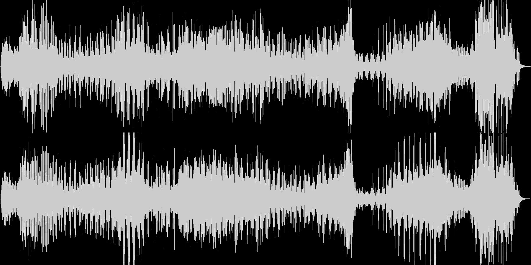 ピアノ曲 若干暗いかなーの未再生の波形