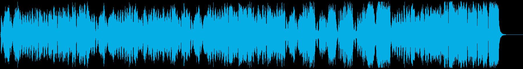 不思議・奇妙・奇怪・サーカス風のBGMの再生済みの波形