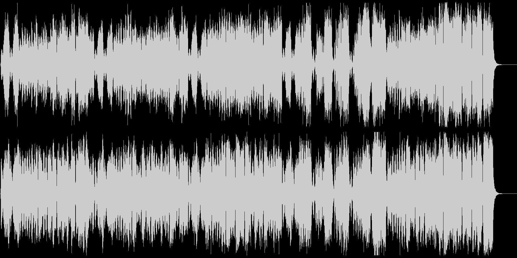 不思議・奇妙・奇怪・サーカス風のBGMの未再生の波形