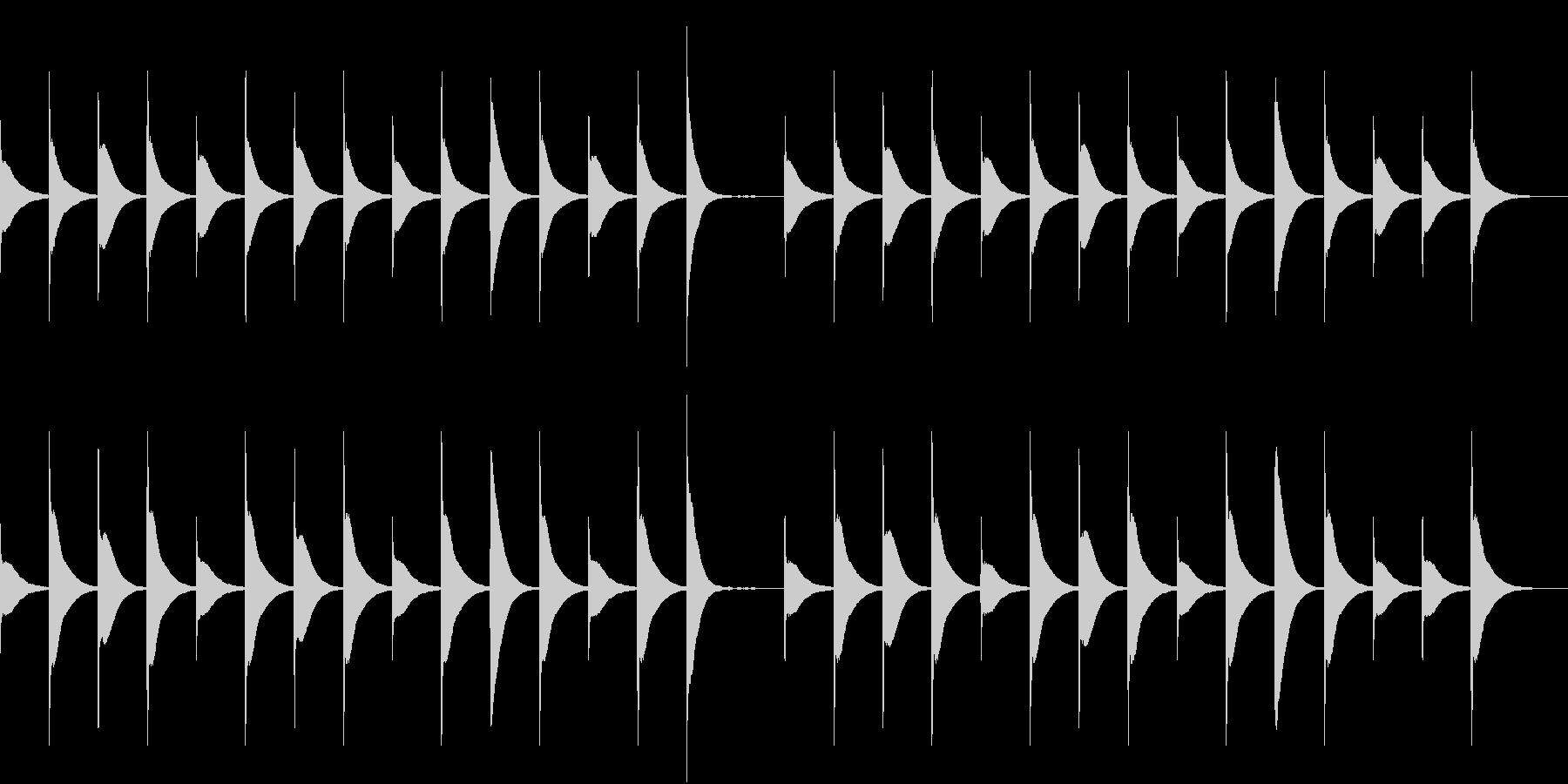 Xylo まったり可愛いベビー向けBGMの未再生の波形