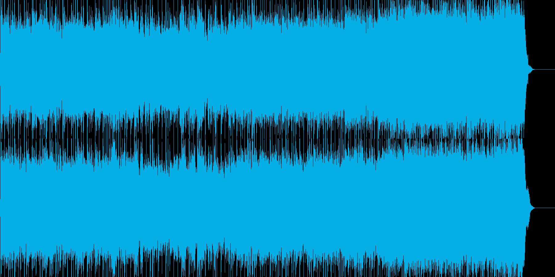 エネルギッシュなツインギターロックの再生済みの波形