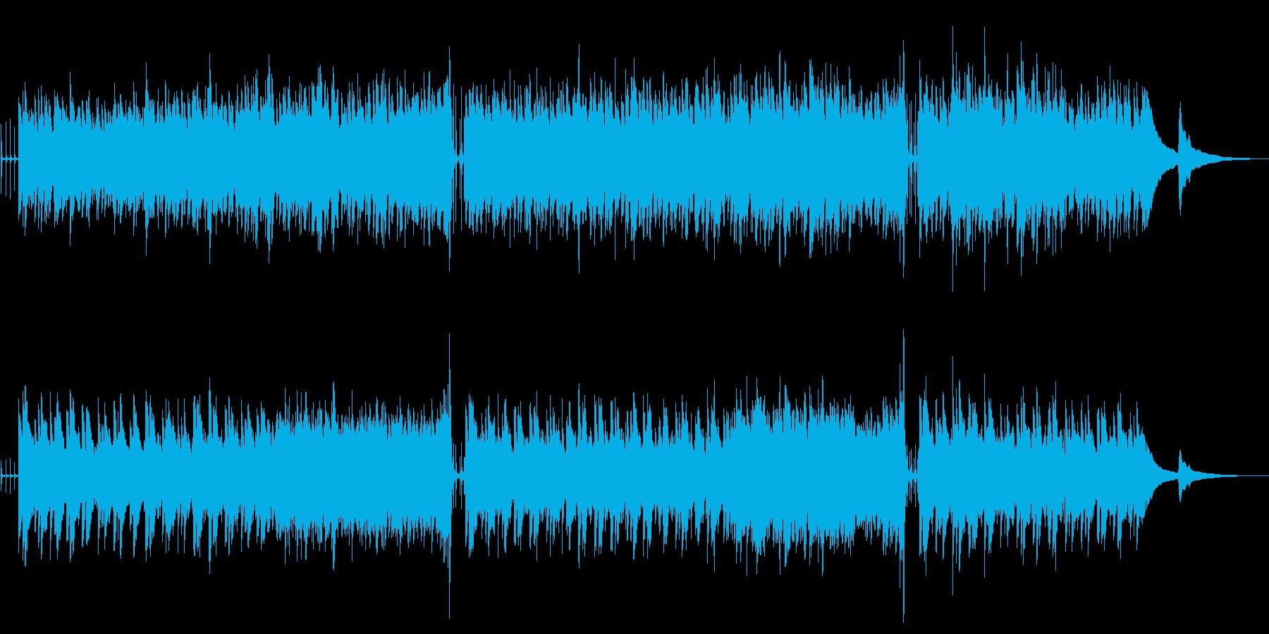アコースティックギター フォーク調#2の再生済みの波形