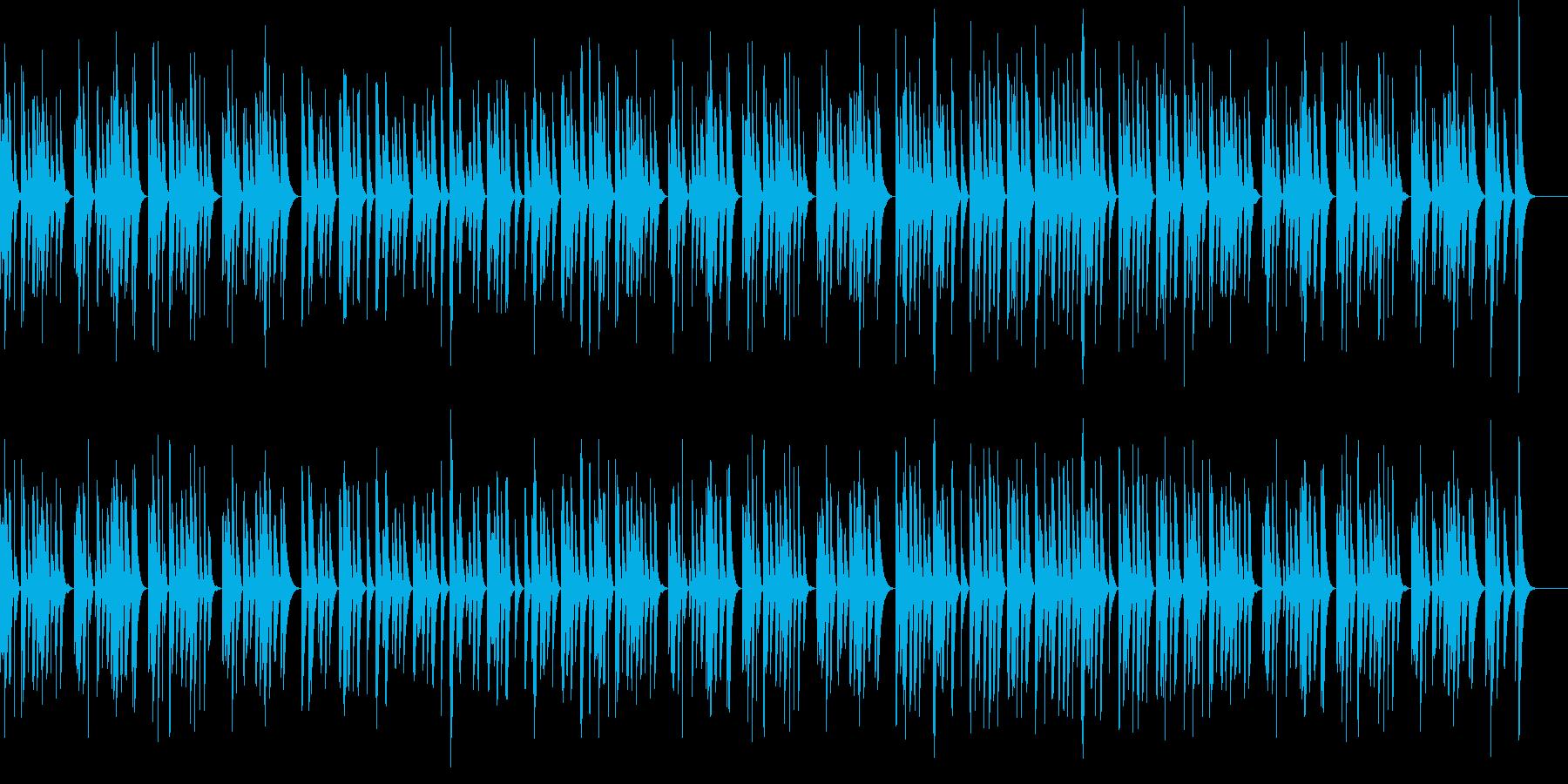 かわいい・軽快なマリンバのソロの再生済みの波形