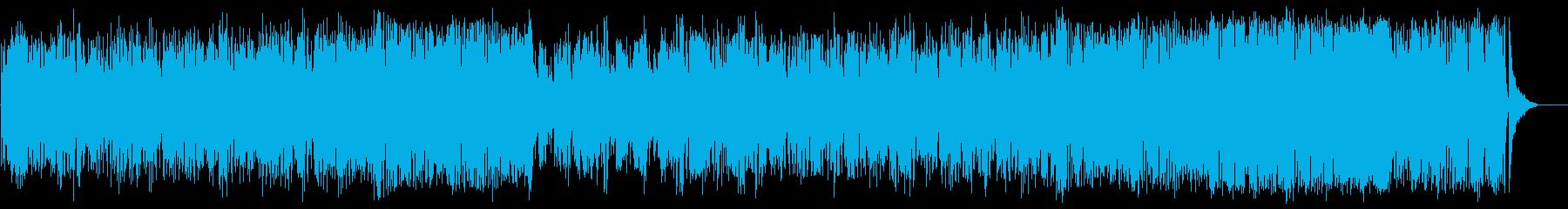 春の陽射しのフュージョン(フルサイズ)の再生済みの波形
