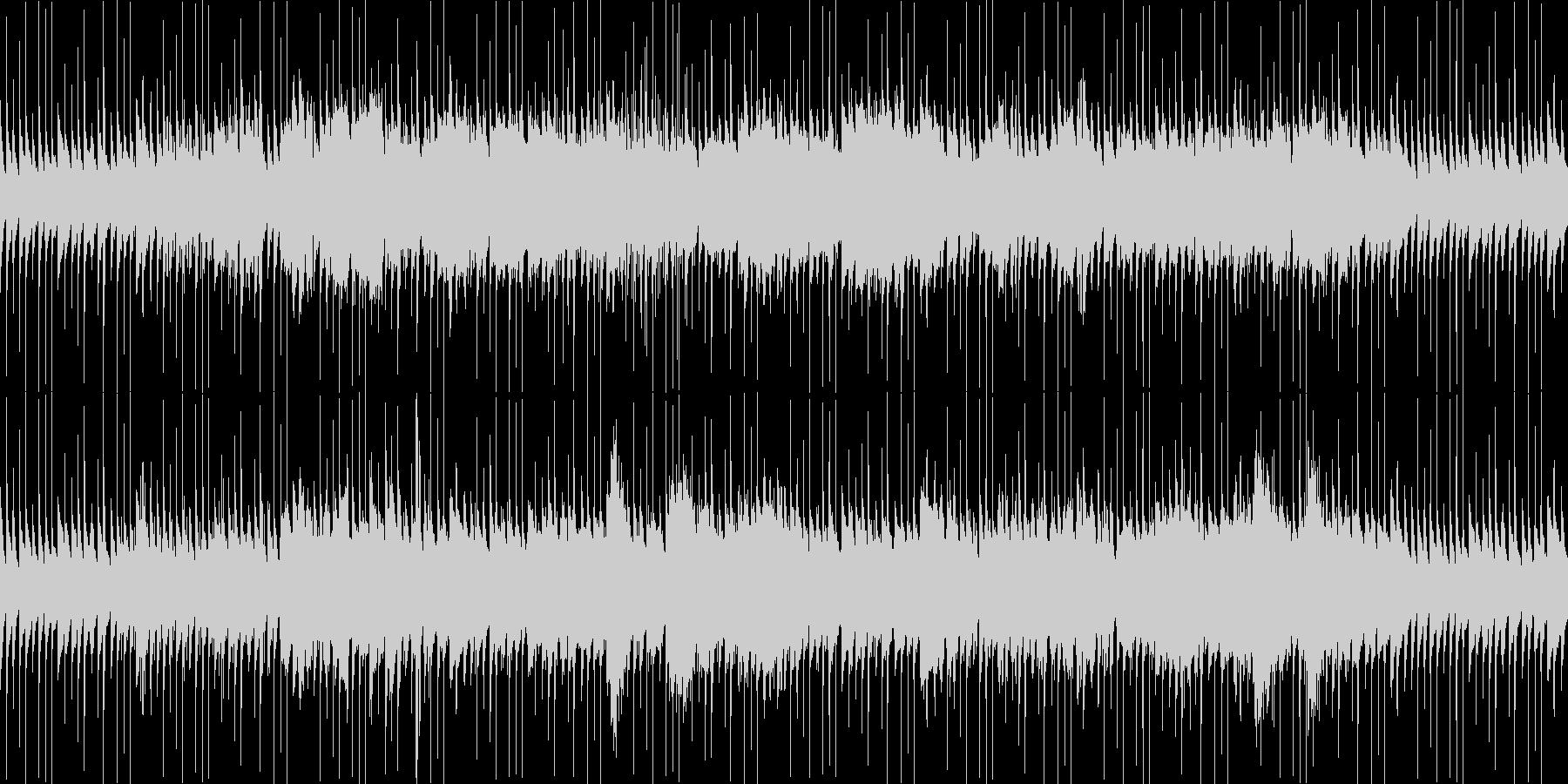ホラー向けの不安定なBGMです。繰り返…の未再生の波形