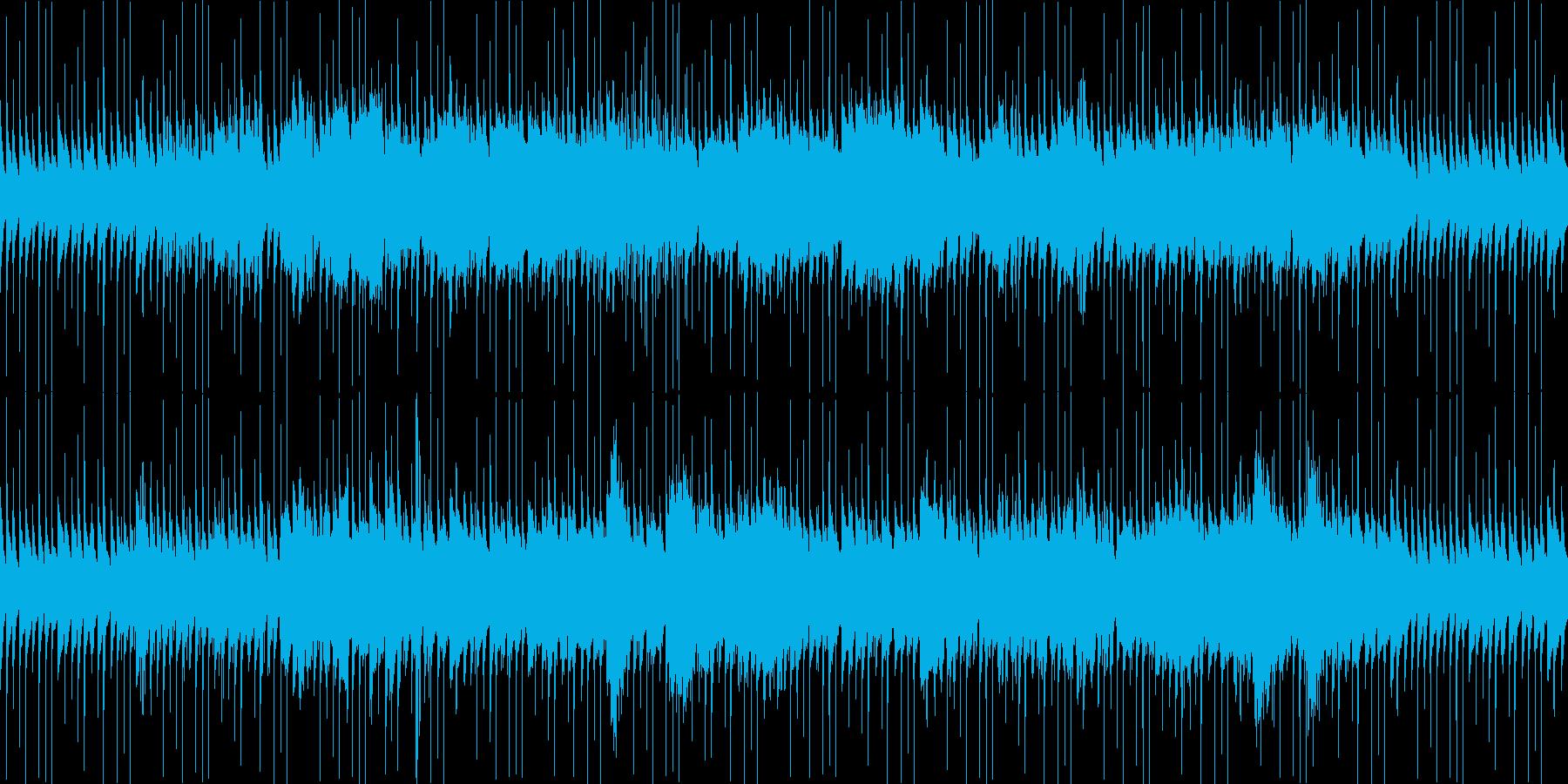 ホラー向けの不安定なBGMです。繰り返…の再生済みの波形