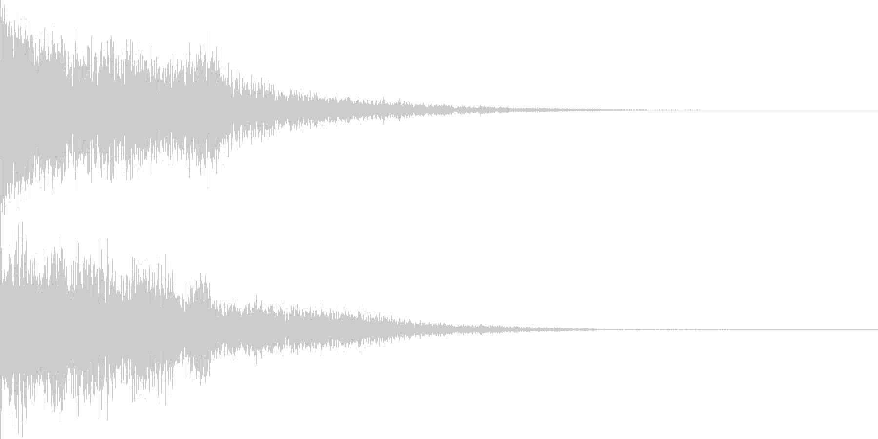 [ティローン]選択音(可愛くコミカル)の未再生の波形