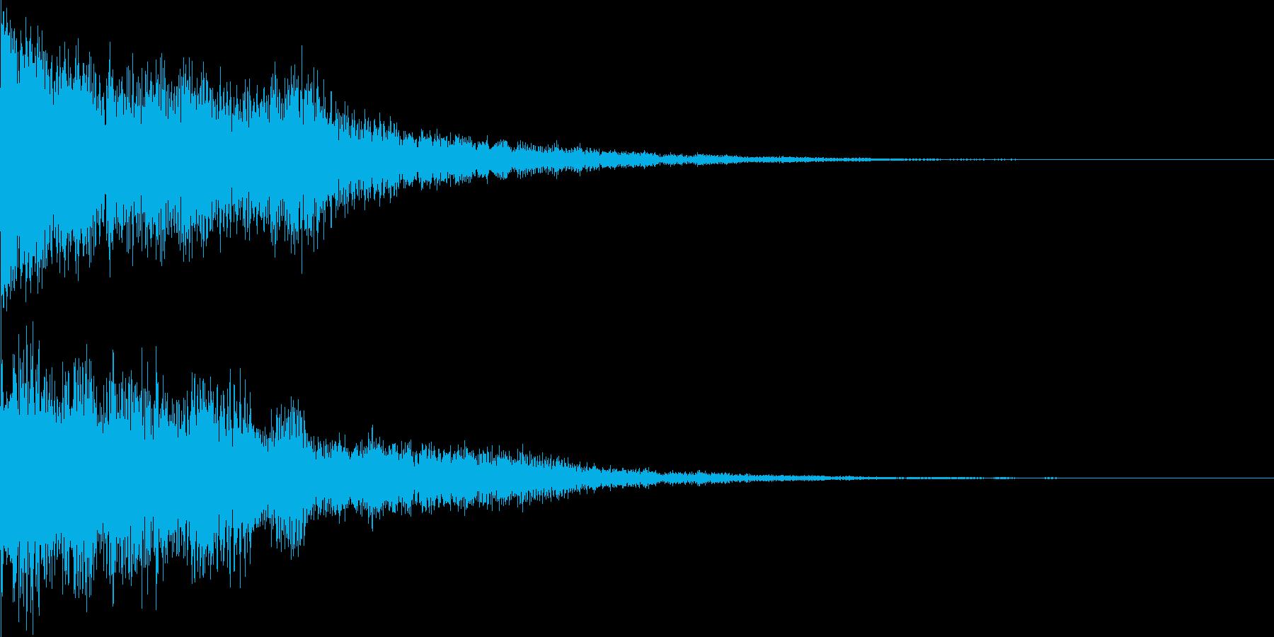 [ティローン]選択音(可愛くコミカル)の再生済みの波形
