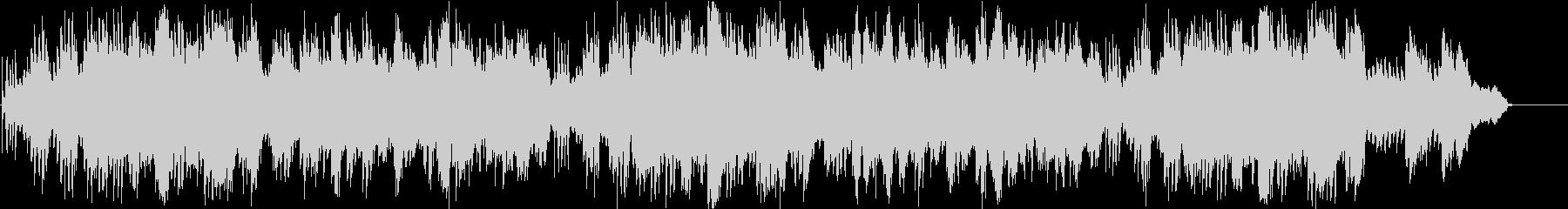 ピアノ 上品 のどか 幸福 ゆったりの未再生の波形