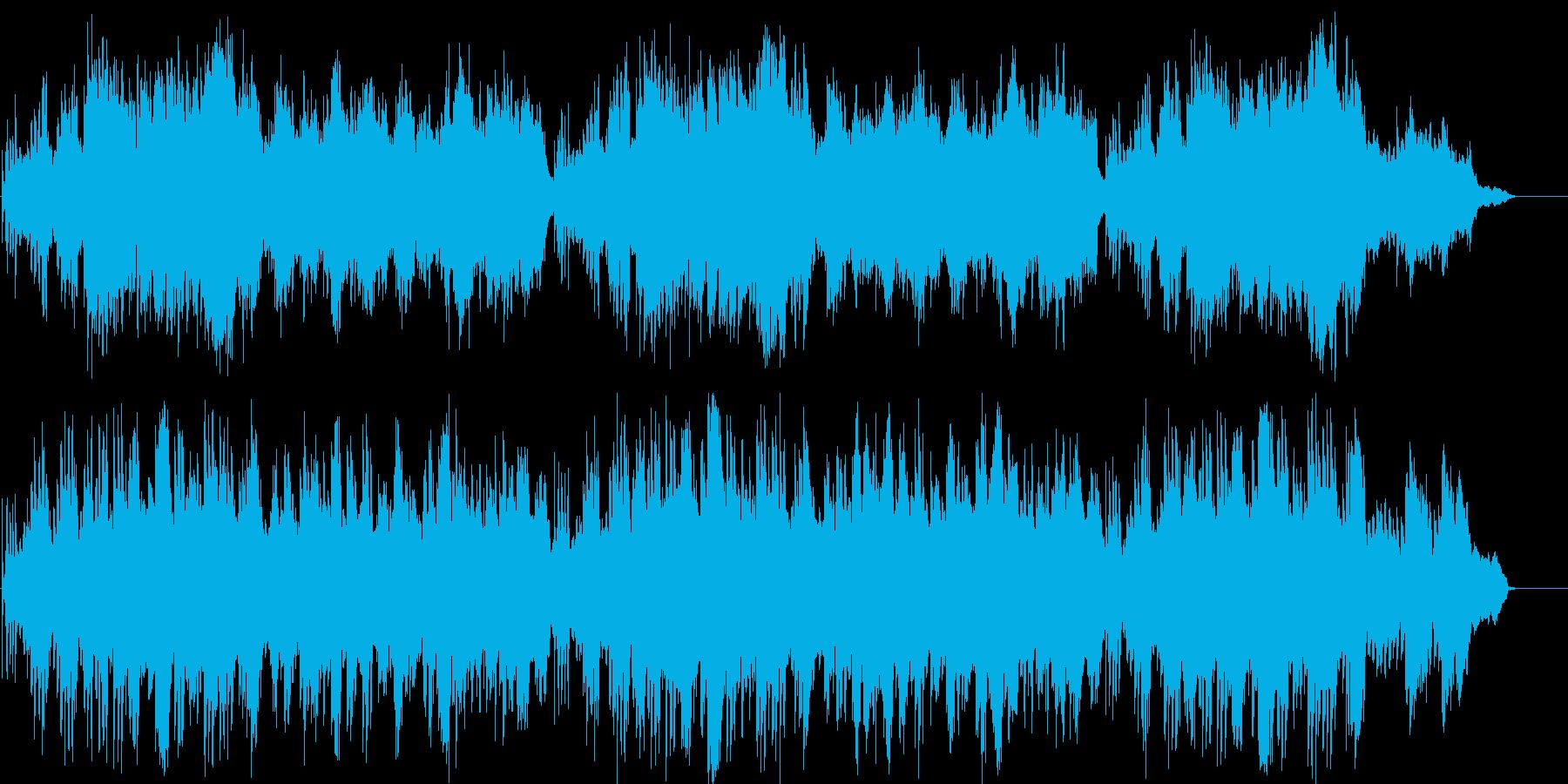 ピアノ 上品 のどか 幸福 ゆったりの再生済みの波形