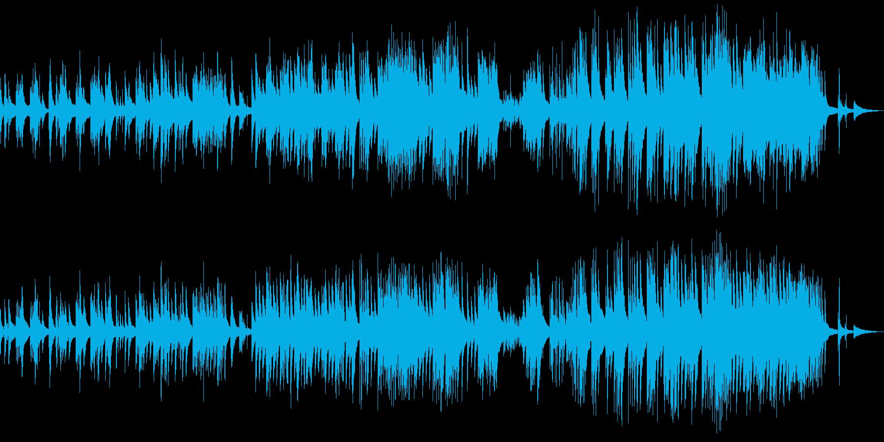 心が通じ合うような充足感のあるピアノソロの再生済みの波形