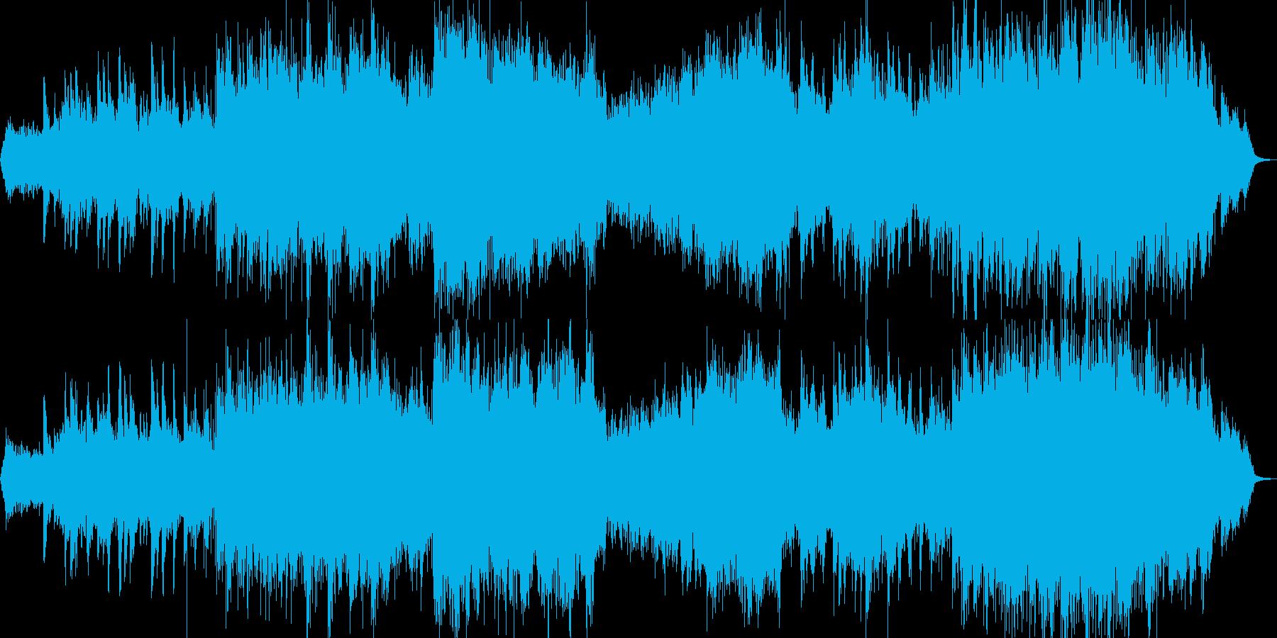 ボサノバ風ポップの再生済みの波形