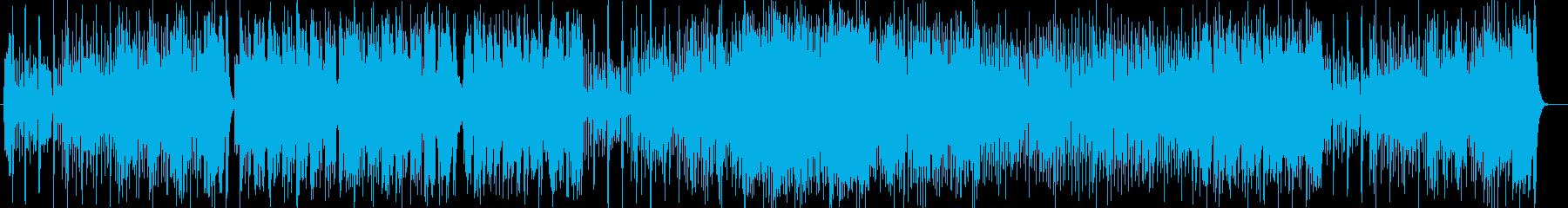 疾走感のあるピアノポップスの再生済みの波形