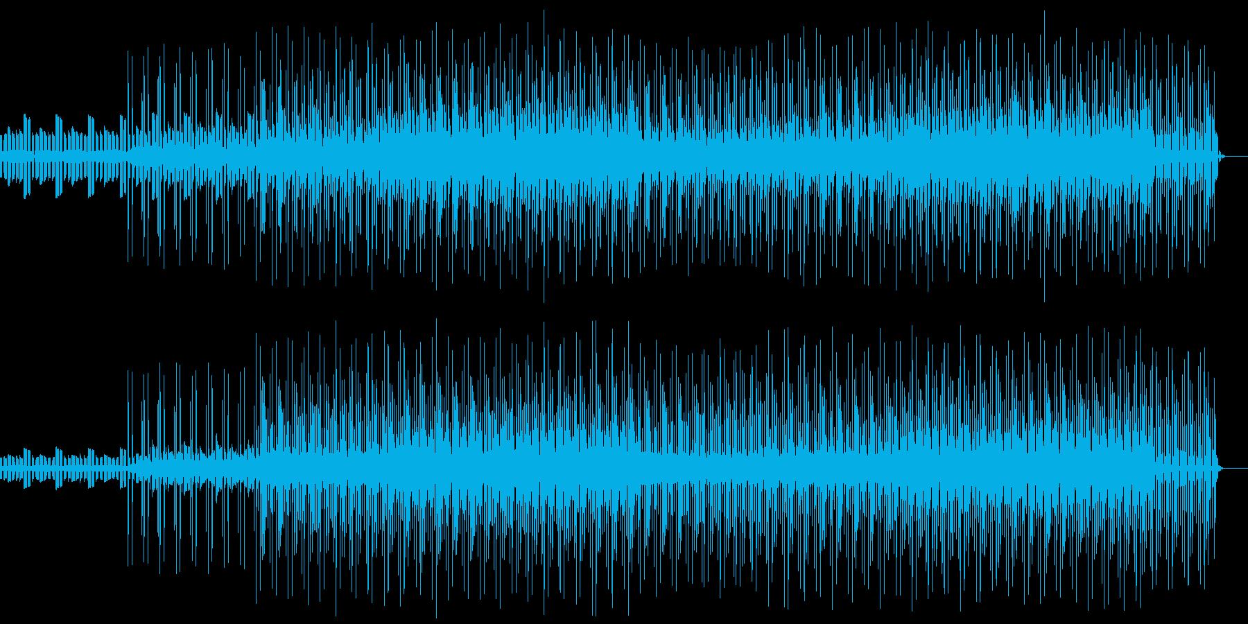 かわいい、ゆるい、コミカル-07の再生済みの波形