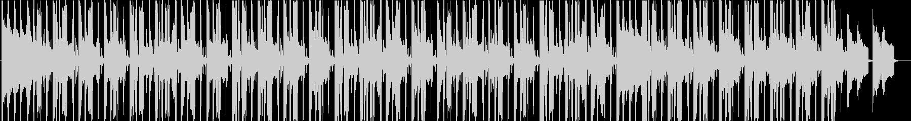 シンセとブレイクビーツのBoomBapの未再生の波形