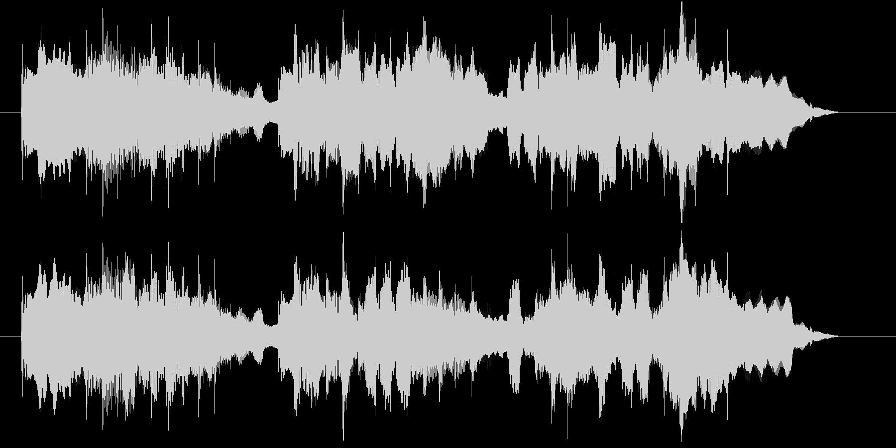 フルートが優しいCM向けBGMの未再生の波形