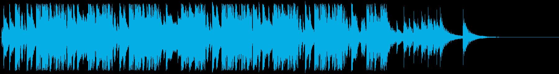 和風インスト2の再生済みの波形
